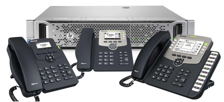 Telefonska centrala sa telefonima