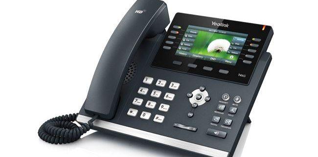 Yealink VoIP telefoni